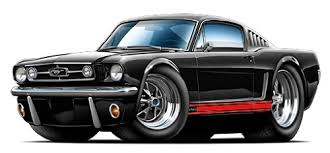 Amazon Com Gf 1965 Mustang Gt Fastback Wall Decal 2ft Long Car Sport Classic Graphic Sticker Man Cave Garage Boys Room Decor Baby