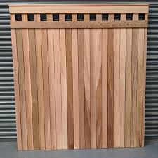 Western Red Cedar Fence Panels Cedar Fencing Slatted Screen Fencing