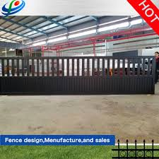 Rongo Auto Electric Aluminum Fence Driveway Gate In The Latest Design China Steel Fence And Garden Gate Price Made In China Com