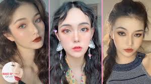 hottest makeup videos on chinese tiktok