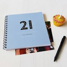 personalised 21st birthday memories