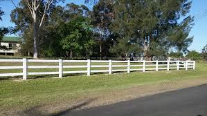 3 Rails Horse Fence Pvc Horse Fence Vinyl Rural Fence Ranch Fence