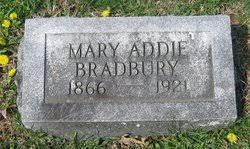 Mary Addie Mitchell Bradbury (1866-1921) - Find A Grave Memorial