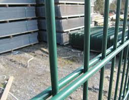 Twin Wire 8 6 8 Fencing Mesh Panel Double Wire Mesh Wrought Iron Style Fence Double Wire Fence