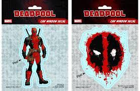 Deadpool Window Decal Deadpool Bugle