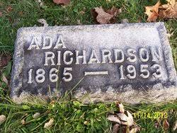 Ada Bell Knox Richardson (1865-1953) - Find A Grave Memorial