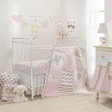 baby love 7 piece baby crib bedding set