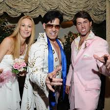 the king las vegas wedding the elvis