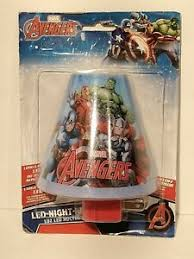 Marvel Kids Wall Plug In Night Lights For Sale In Stock Ebay