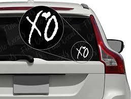 Xo Weekend Vinyl Decal Sticker Car Decor Buy Online In Macedonia At Desertcart