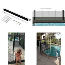 5 Ft X 10 Ft White Rust Proof Child Barrier Pool Safety Mesh Fence 711181090673 Ebay