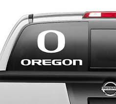 Oregon O Ducks Football Car Truck Laptop Vinyl Window Vinyl Decal Ebay