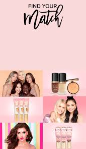 shade finder landing page toofaced