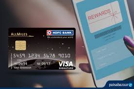 hdfc all miles credit card review