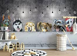 3d Kids Children Room Animal Wallpaper Grey Background For Living Room Mural Wall Decor Wall Papers Roll Hd Contact Paper Phone Wallpapers Photo For Desktop Wallpaper From Griffith 16 57 Dhgate Com