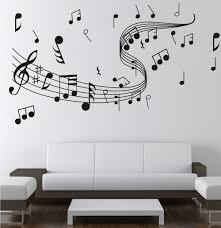 Note Music Wall Sticker 0855 Music Decal Wall Arts Wall Paper Sticker Home Studio Decor Us 8 87 Music Wall Decal Music Wall Stickers Music Wall Decor
