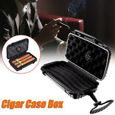 shockproof travel cigar caddy