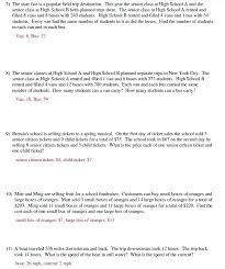 algebraic equations word problems pdf