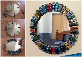This Toy Car Mirror Is A Must Try Project For Kids Room