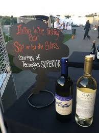 """The exclusive Almo Premium """"after party"""" for customers and dealers featured  Italian wine tasting! 