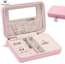 13cm portable travel small jewelry box