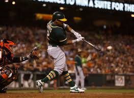 Stealth no more, A's Khris Davis looking for encore to 42-bomb ...