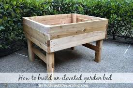 raised garden bed making beds make your