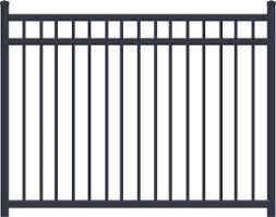 China Outdoor Black Inground 5ft Aluminum Child Safety Customized Welded Powder Coated Loop Bow Hoop Top Used Swimming Pool Fence China Railing Cast Iron Fence