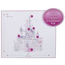 Disney Baby Princess Castle Giant Wall Decal Bed Bath Beyond