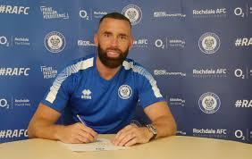 Aaron Wilbraham Signs New Rochdale Deal - News - Rochdale AFC