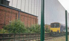 Secureguard 358 High Security Wire Mesh Fencing Barkers Fencing Esi External Works
