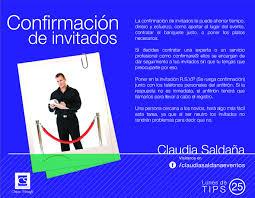Tip De Boda 25 Confirmacion De Invitados Boda Evento Buenos