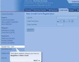 credit card through hdfc netbanking