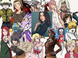 Character Compilation: Laura Bailey (2 ...