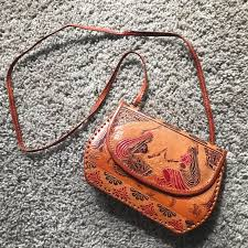 vintage bags handmade leather bag