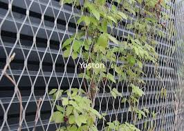 X Tend Stainless Steel Cable Netting Wire Mesh Plant Trellis For Climbing Plants