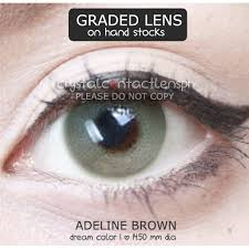 GRADED Adeline Brown by Dream Color 1 | Shopee Philippines