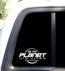 10th Planet Richmond Decal