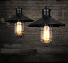rustic pendant lights vintage style