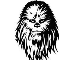 Chewbacca Car Decal Etsy