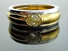1 14ct Y Z Vs2 Oval Diamond Ring