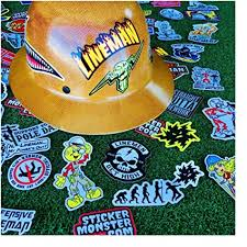 Amazon Com Lineman 64 Hard Hat Stickers Hardhat Sticker Linemen Electrician Reddy Ibew Arts Crafts Sewing