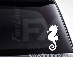 Seahorse Sea Life Vinyl Decal Sticker