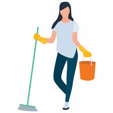 Domestic cleaning, home cleaning, household chores, household ...