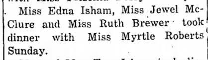 Myrtle ROBERTS - Newspapers.com