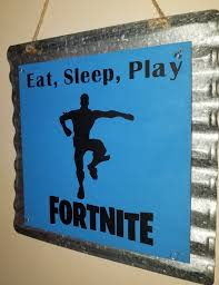 Fortnite Eat Sleep Play Sign Kids Bedroom Sign Game Room Sign Kid Room Decor Room Signs Kids Room