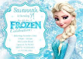 Elsa Congelado Invitacion De Cumpleanos Para Imprimir En 2020