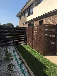 Diy Aluminium Horizontal Slat Fencing And Bunnings Melbourne
