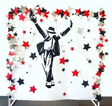 Michael Jackson Mj King Of Pop Birthday Party Party Decor
