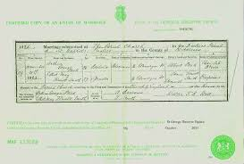 PASK, PASKE One-Name Study Narratives - Marriage Certificate of ...